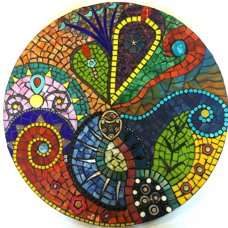 Mosaic artist rachel Greenberg creates vibrant and joyful mosaic art and sculpture to add whimsy to any corner of your life.