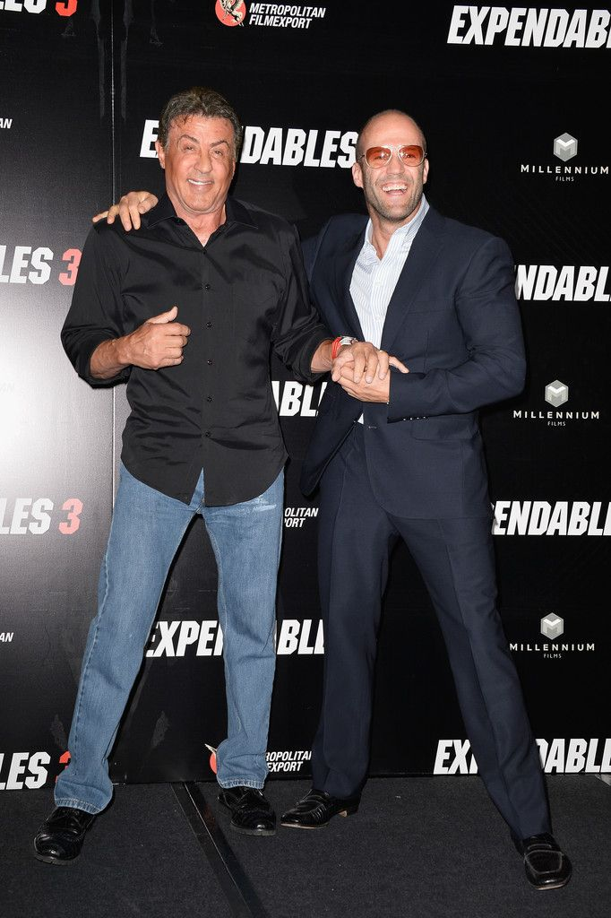 Jason Statham Photos - 'The Expendables 3' Photo Call in Paris — Part 2 - Zimbio