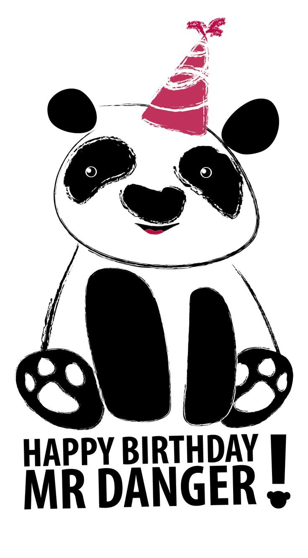 Danger Panda by Zahira Zorrilla