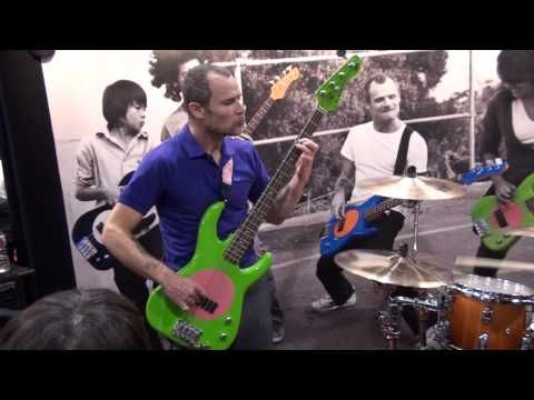 Flea and Chad Smith from RHCP at NAMM 2010. Improvised or rehearsed, it's still a great example of groove.