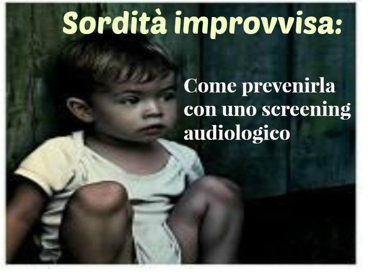 La sordità improvvisa è un evento pericoloso per l'udito del bambino se non viene trattato repentinamente. Leggi l'articolo: http://www.palidoronews.it/schede-167-