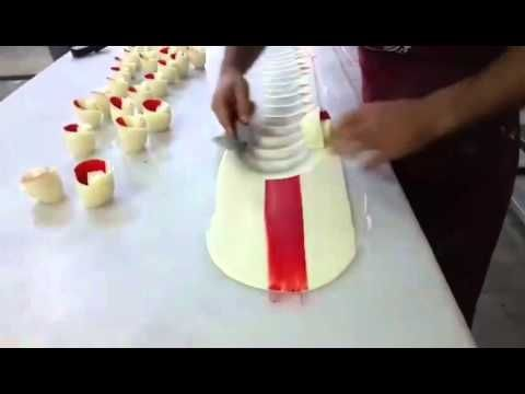 How To Make Chocolate Garnishes Decorations CAKE beautiful - YouTube