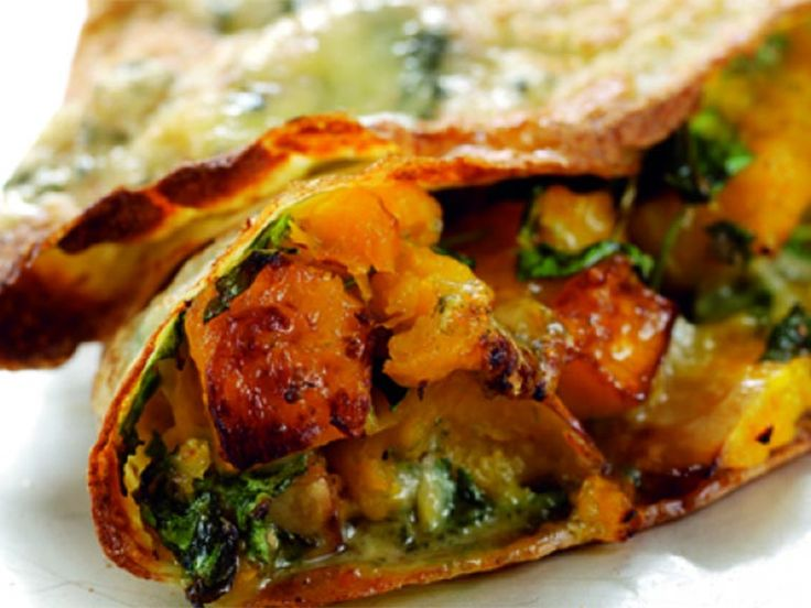 Five delicious ideas for savoury pancake fillings.
