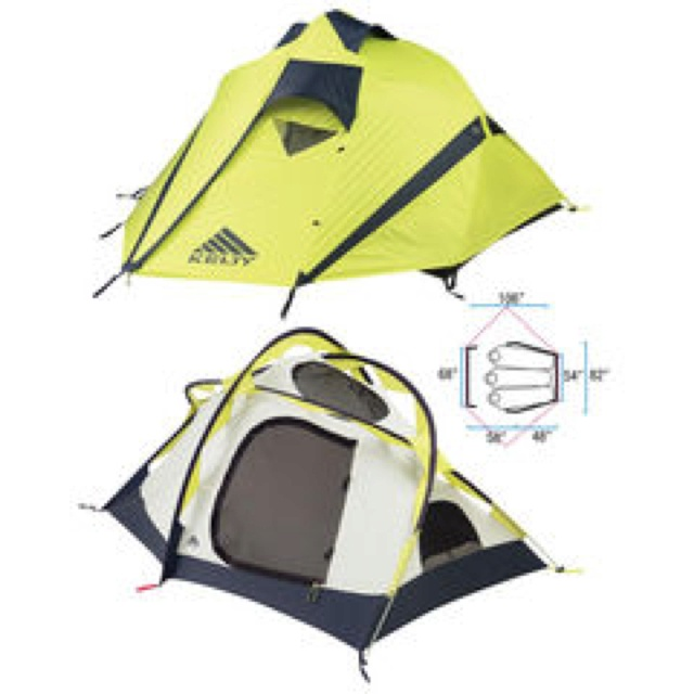 Medium image of cover  kelty radiant 3 four season tent