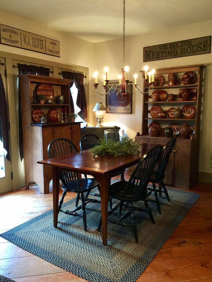 Primitive dining room ideas