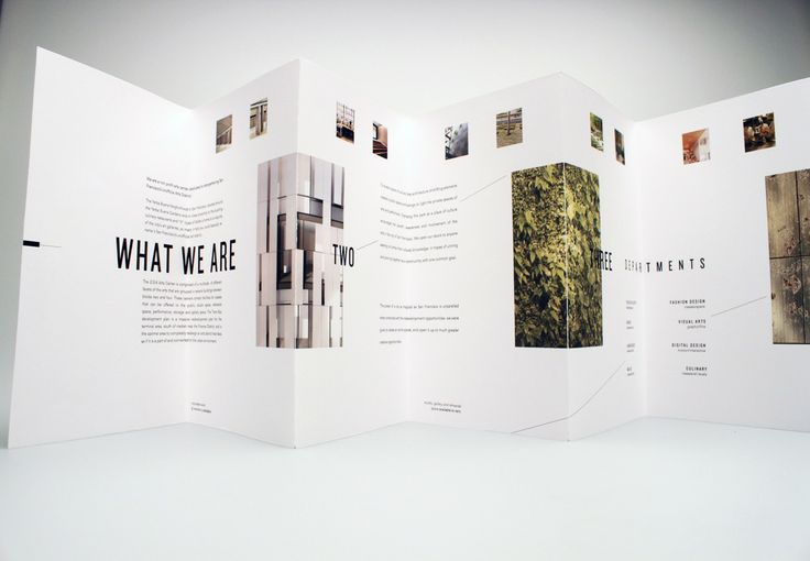 2/3/4 Arts Center / Brochure Design