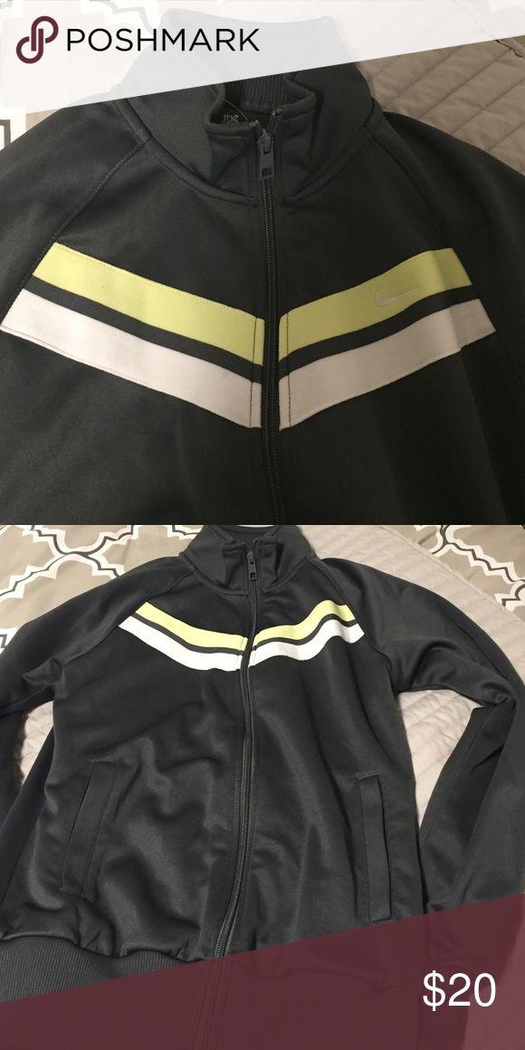Nike grey zip up Sz M Grey Nike zip up excellent condition Sz M Nike Jackets & Coats