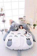 high quality Giant big Single Totoro Cartoon Bed Mattress, Large Bean Bag Lounge