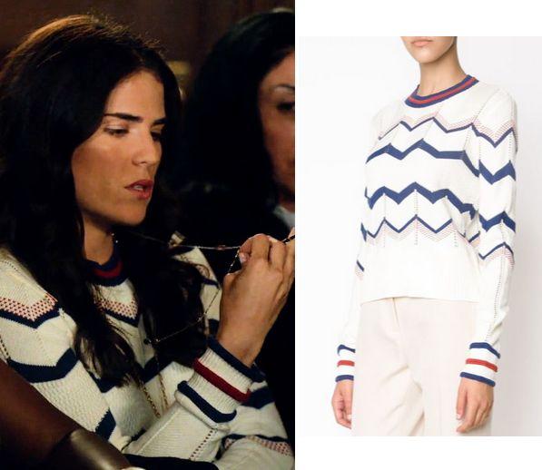 Laurel Chevron Sweater