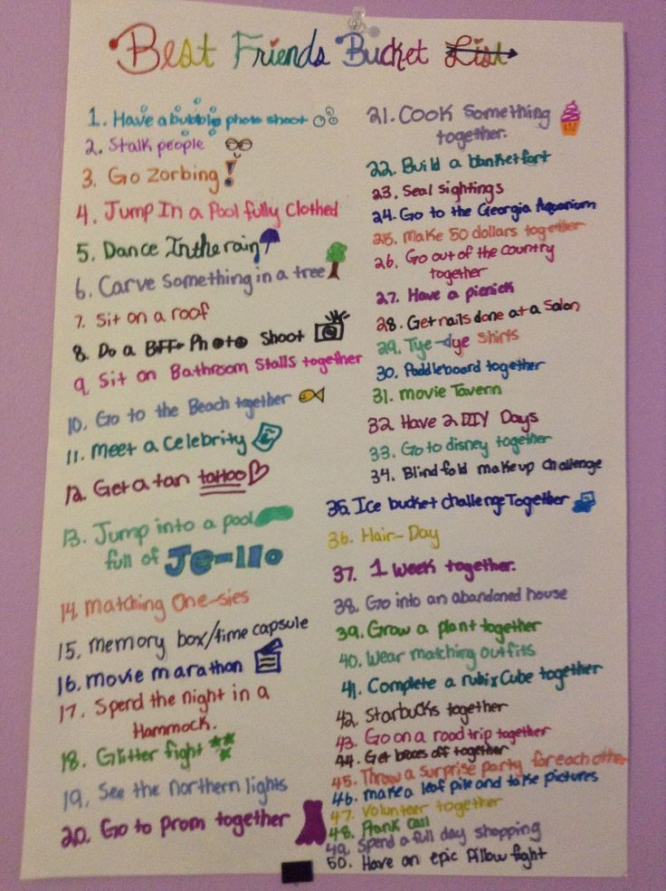 Last Minute Sleepover Ideas For Sleepover Party Best Friend Bucket List Bff Bucket List Things To Do At A Sleepover
