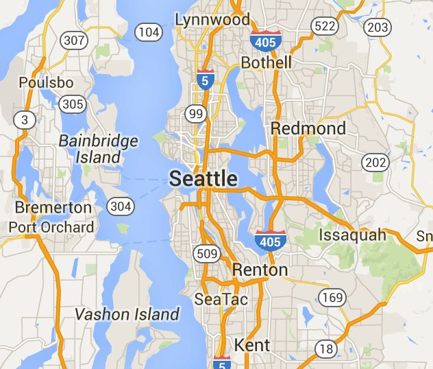 Efficiency or studio apartments for rent in Seattle, WA - EveryAptMapped