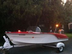 1956 runabout boat - Google Search