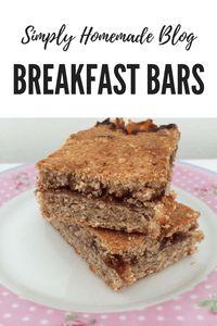Breakfast Bars - Simply Homemade