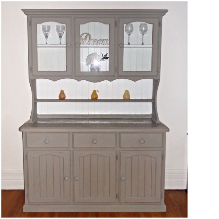 Shabby Chic Buffet And Hutch Restored By Dusty Treasures Home Decor U0026  Jewellery,painted Annie