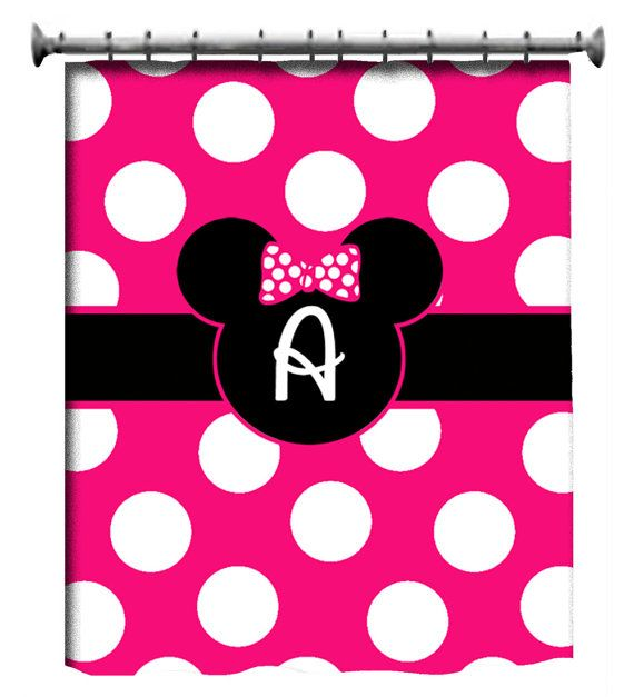 Love this Custom Shower Curtain Personalized  Minnie Mouse by 3psinapod2011, $69.50