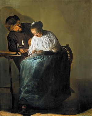 The Proposition by Judith Leyster (1631)