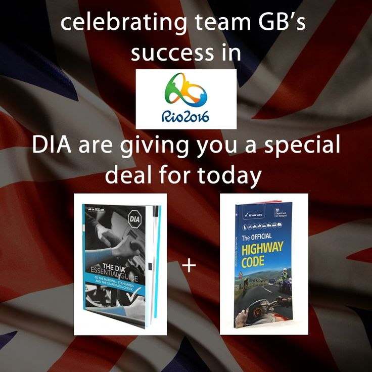 To celebrate the recent success of team GB in RIO we are offering you the chance to take advantage of our lightening deal for 24 hours for the first 12 people.          The Official Highway Code (English)    We describe so many of our shop products as 'essential reading', but they don't get much more essential than The Official Highway Code. These are the guidelines and rules that govern all road users in England, Scotland and Wales – and ignorance is no excuse when it comes to breaking…