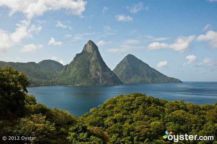 We would all be so lucky as to stay at the Jade Mountain Resort in St. Lucia. With a view like this from the private infinity pool, I'm already saving up! -- Devon: Candid Photos, Mountain View, Hotels Review, Jade Mountain, Resorts St., Lucia Travel, Undoctor Photos, Mountain Resorts, St. Lucia