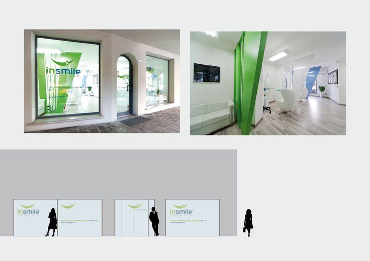 InSmile Progetto grafico store
