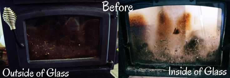 how to clean a rusted fireplace screen