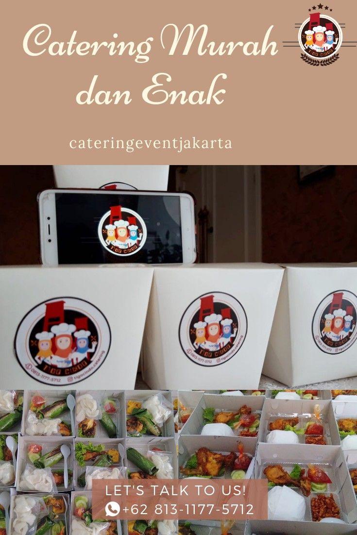 Butuh nasi box, snack box, atau paket prasmanan yang murah
