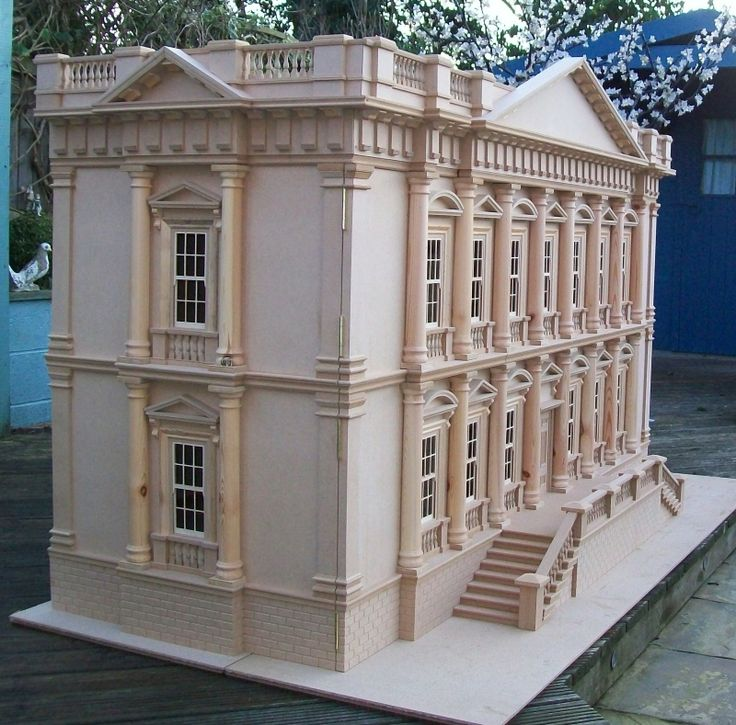 Anthony Wright Miniatures - Your dream house in 1/12 scale ! An Individual and Truly Scaled Grand Mansion, based on 'The Spencer House' Han...