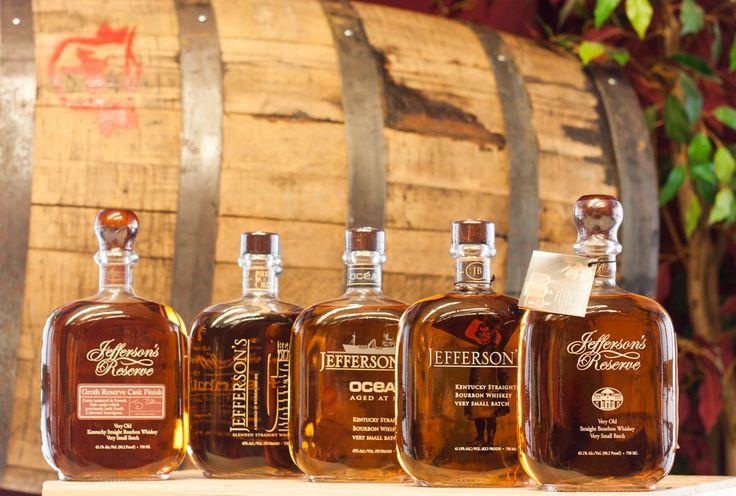 Jefferson's Bourbon Selection