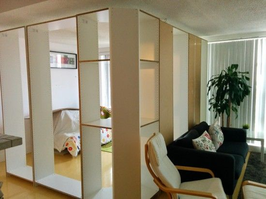 IMG_20140705_131459 Comment fabriquer une cloison avec des meubles de dressing Pax Ikéa 2/5