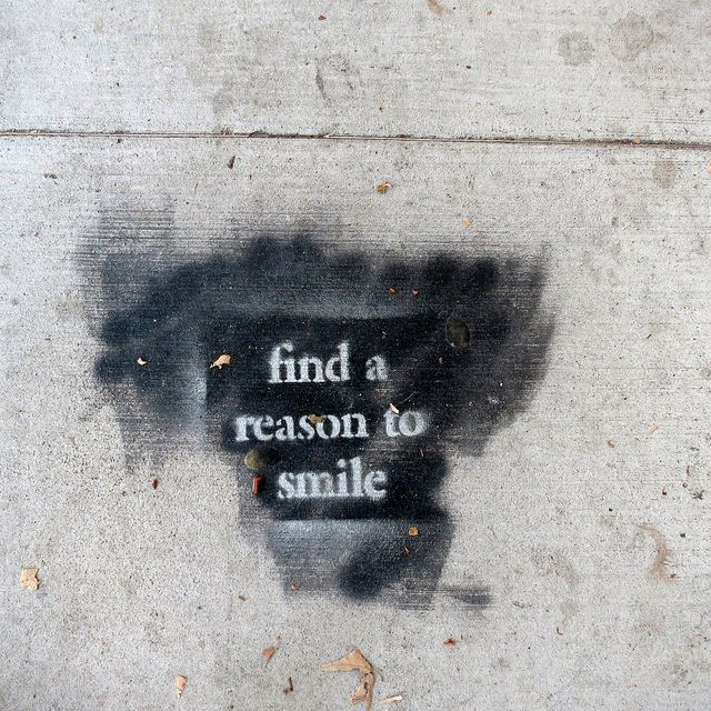 Positive Affirmation Street Art in Venice, Los Angeles, California by Rusty Blazenhoff, via Flickr