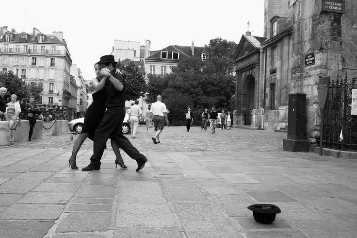 tango, paris.