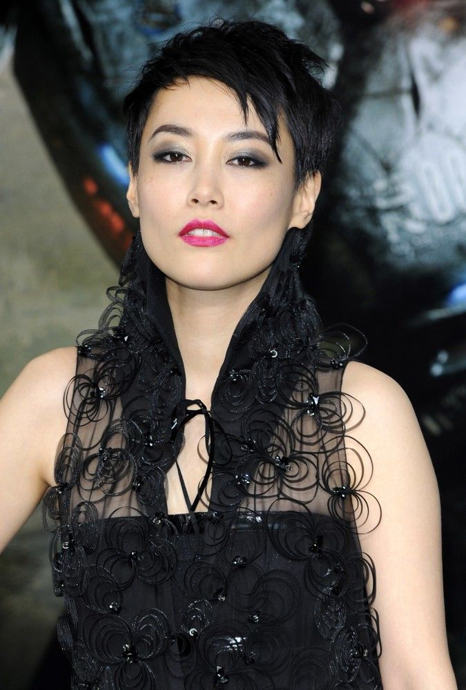 Rinko Kikuchi - Pacific Rim London Premiere - Red Carpet