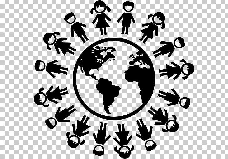 Computer Icons Earth Child World Globe Png Black And White Child Child World Circle Computer Icons Computer Icon World Globe Icon