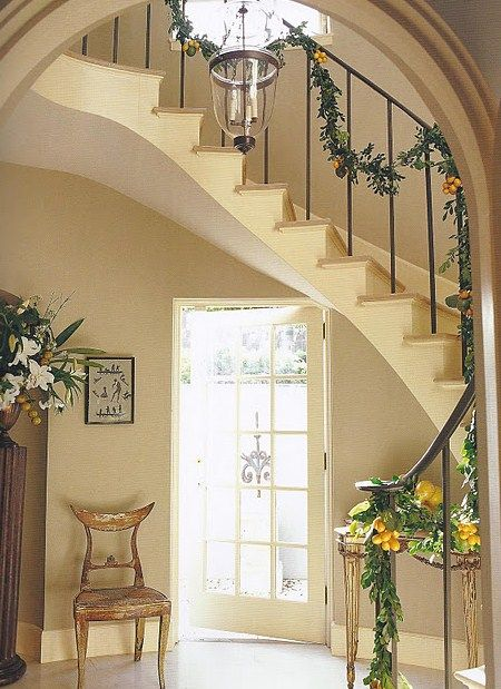 Front Foyer Staircase : Best images about entry foyer stairs french