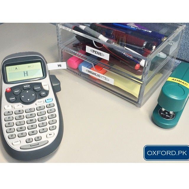 Casio Label It! Label Printer best for you daily Business.