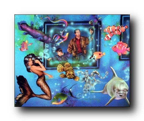 This beautiful lady mermaid in aquarium with ocean fish fantasy art print poster is surely enhance the beauty of your tropical home decor. It will be a great decorative piece of art and goes well with any decor pattern. So Hurry up and buy this charming wall poster for its wonderful paper quality with perfect color accuracy.