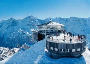 Schilthorn u2013 Piz Gloria Best view of Eiger Mönch and Jungfrau! Also cool because one of the bond films was filmed here. Fantastic place to visit and eat a ... & 75 best Switzerland Travel images on Pinterest | Landscapes ... pezcame.com