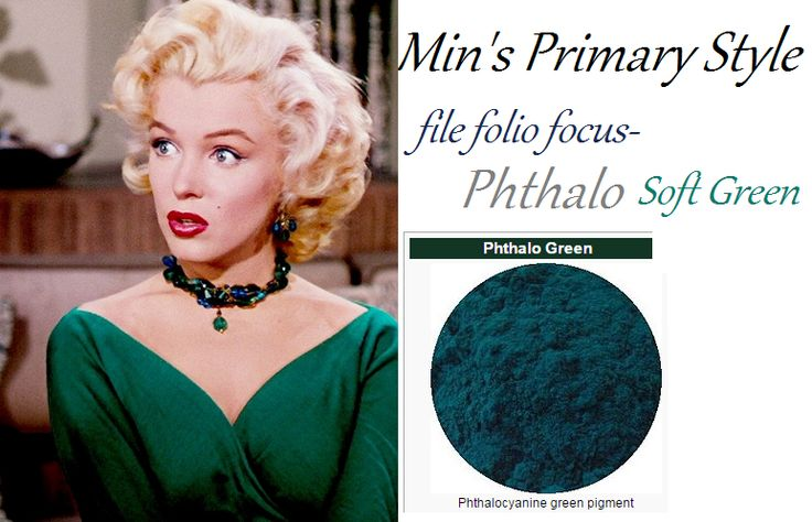My Style article about Phthalo soft green at vaguevisages.com
