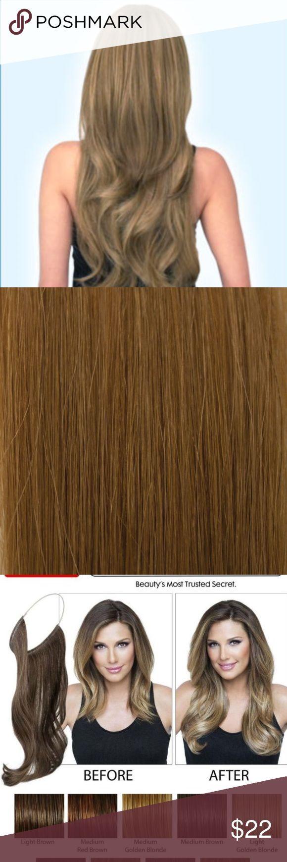 Secret Hair Extensions Daisy Fuentes Golden Blonde 01 Dark Golden Blonde Patente