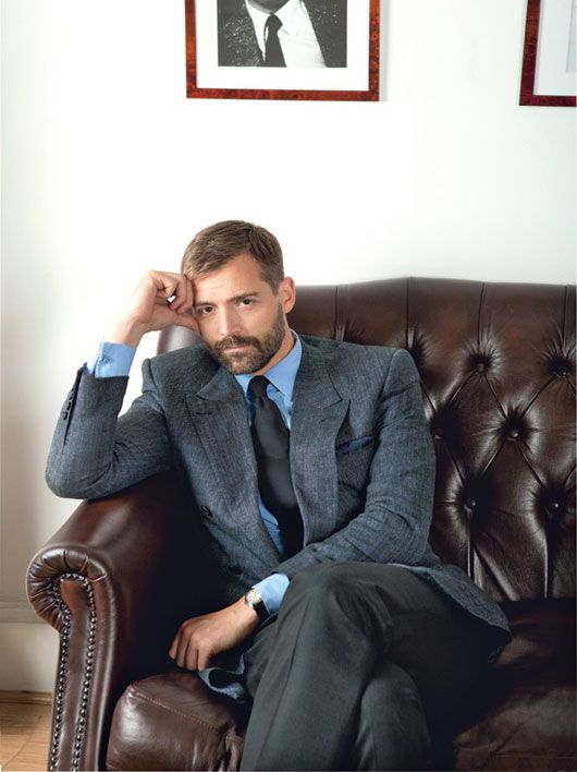 """""""Men do well when they find something that works for them and stick to it, rather than continually try to reinvent the wheel—one of our customers must have 20 double-breasted jackets in the same cut. If you establish your own sense of style, you don't subject yourself to the vagaries of fashion.""""Patrick Grant    Read More http://www.details.com/style-advice/rules-of-style/201209/mens-suits-tailoring-guide#ixzz26eyFKIDA"""