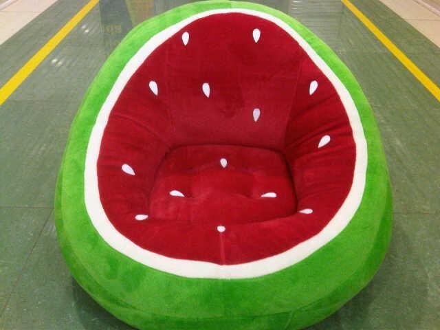 Harga Semangka   YOBEL GARAGE: SOFA ANAK BONEKA watermelon chair