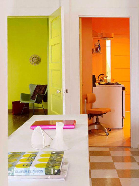 Die besten 25+ Orange gestrichene zimmer Ideen auf Pinterest - schlafzimmer orange