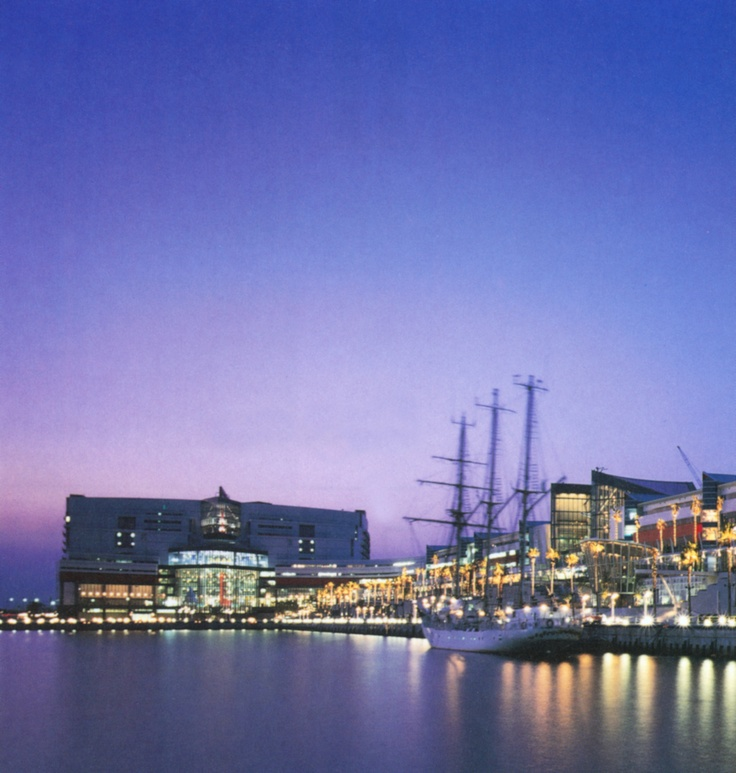 The Asia & Pacific Trade Center is located on 18 acres (seven hectares) of Osaka Bay's commercial and port waterfront. The project's #landscape #architecture encourages tenants and visitors to step outside and experience the refreshing beauty of an urban setting on the waterfront.