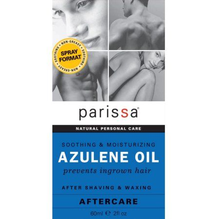 Parissa Azulene Oil After Shave And Waxing Care, 2 Oz, Multicolor