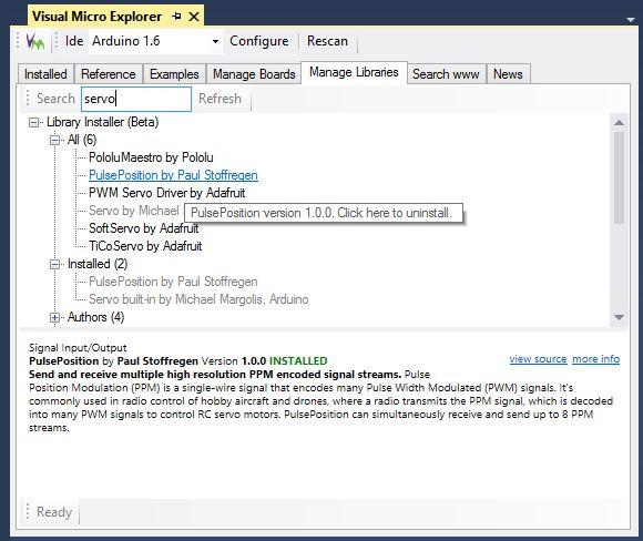Visual Micro Arduino For Visual Studio 2010 2012 2013 And Atmel Studio 6.2 v1508.14.5