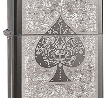 Ace Filigree Black Ice: Genuine Zippo Lighter Supplied by Zippo USA! As with all our Zippo's – this lighter comes with the 'Zippo Limited…