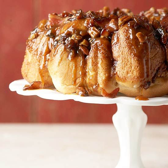 Try this classic brunch dish with a smoky-sweet twist! For the full Brown Sugar-Bacon Monkey Bread recipe and more fun bacon ideas: http://www.bhg.com/recipes/pork/ham/bacon-recipes/?socsrc=bhgpin090413baconbrunchrecipes=13