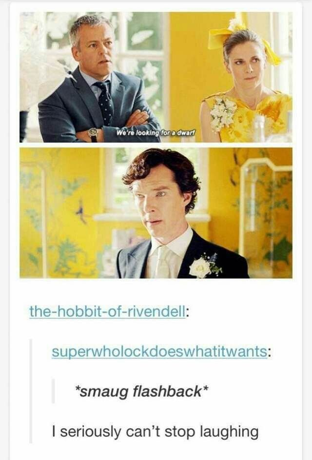 Sherlock, the Hobbit