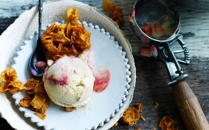 This healthy non-dairy ice-cream is made with corn, which provides a natural creaminess and sweetness. Expect the ice-cream to be slightly more icy as a result! Recipe by the Australian Women's Weekly.