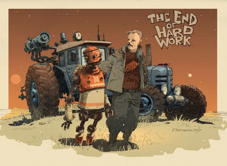"""""""The end of hard work"""" by Andrey Tkachenko"""