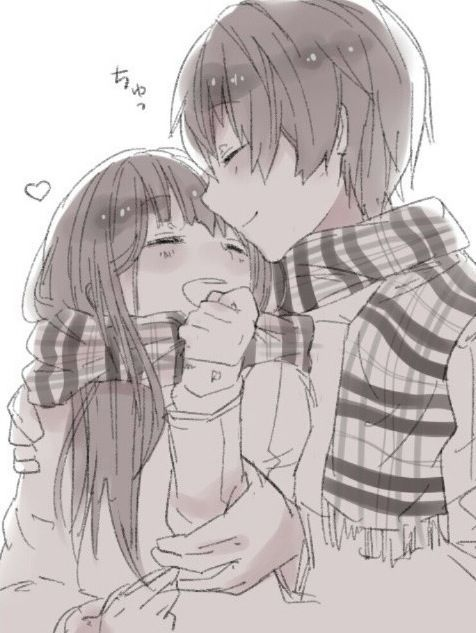 Anime Characters Hugging : Best ideas about anime couples hugging on pinterest
